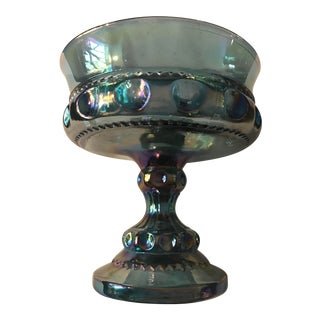 Vintage Indiana Glass King's Crown Footed Dish For Sale