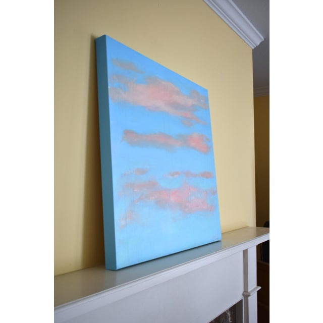 "Modern ""Cloud Study"" Contemporary Painting by Stephen Remick For Sale - Image 9 of 11"