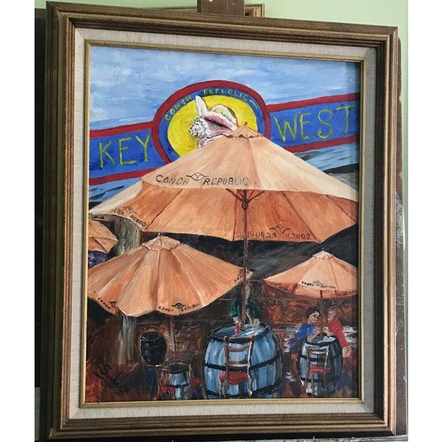 Key West Frame of Mind Painting - Image 2 of 5