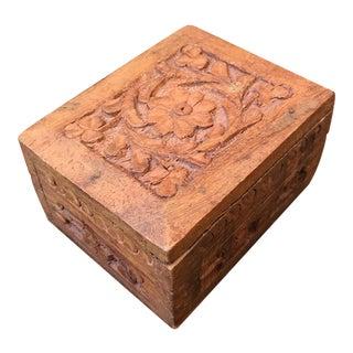 Carved Sandalwood Box