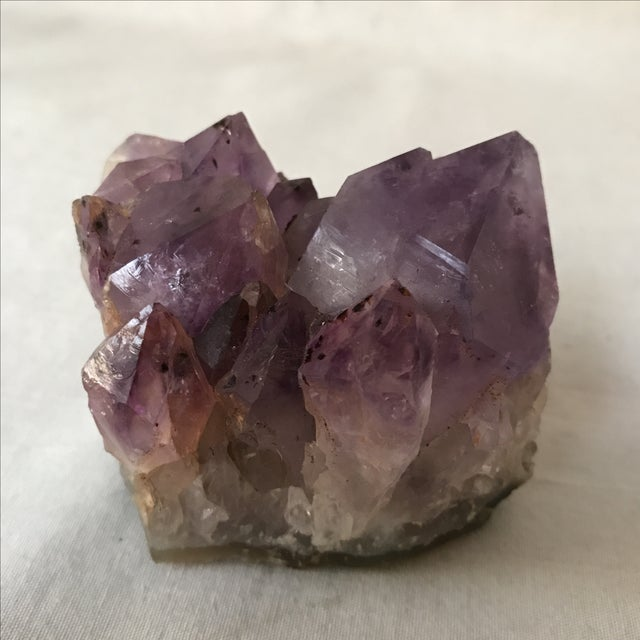 Chunky piece of beautiful amethyst. A fabulous natural piece to add to your decor.