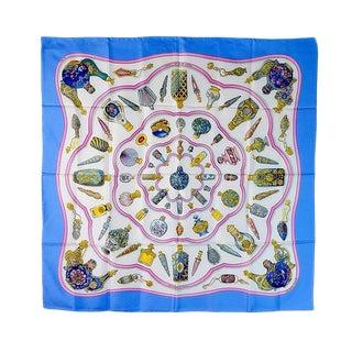 Hermes Qu'importe Le Flacon Silk Scarf For Sale