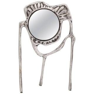 Donald Drumm Aluminum Tabletop Mirror