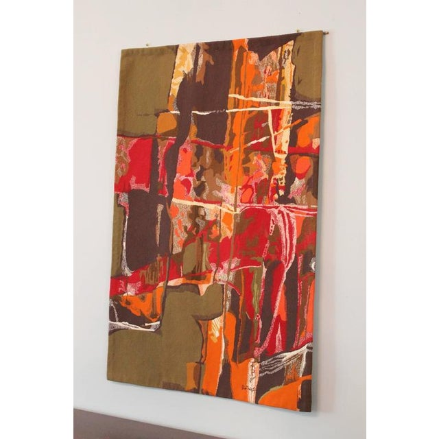 "Mathieu Matégot Tapestry Titled ""19 Composition"" - Image 2 of 10"