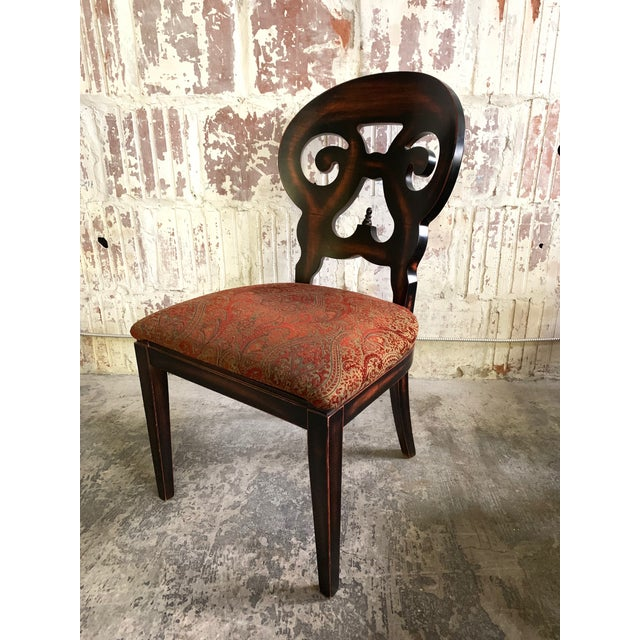 """Set of 6 """"Jordan"""" dining chairs by Arhaus Furniture. Made in Italy. Includes 4 side chairs and 2 arm chairs. Excellent..."""