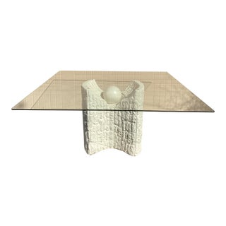 1980s Tessellated Stone Dining Table For Sale
