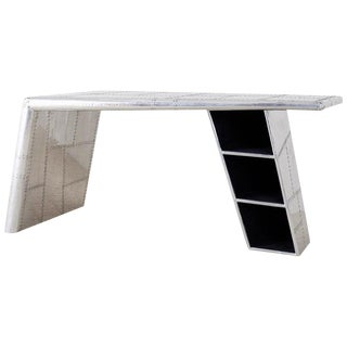 Aluminum Aircraft Aviation Jet Wing Writing Table Desk For Sale
