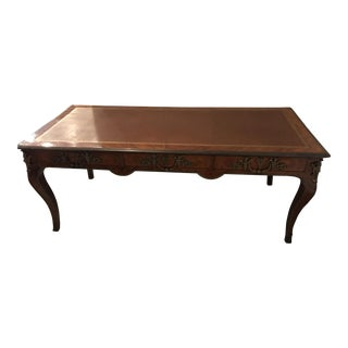 Louis XIV Leather Inlay Desk