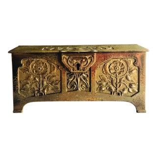Antique Art Nouveau Jewelry Casket