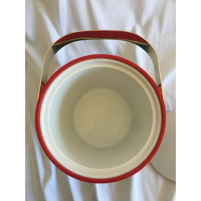 Georges Briard Holiday Ice Bucket For Sale In Houston - Image 6 of 9