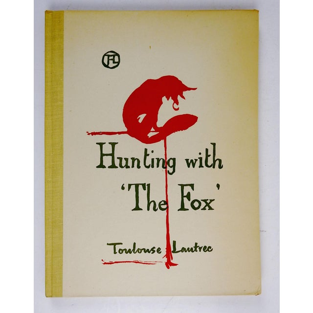 Art Nouveau Hunting With the Fox by Toulouse-Lautrec Book For Sale - Image 3 of 9
