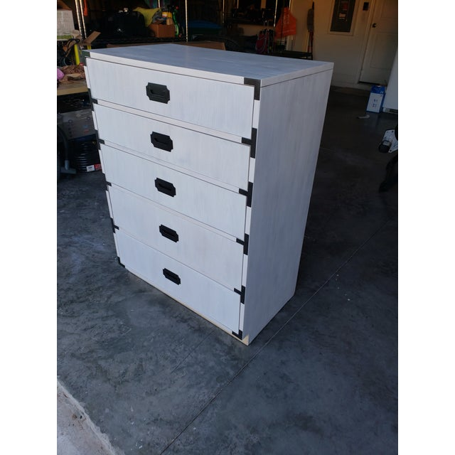 Mid 20th Century Mid-Century Dixie Tall Dresser For Sale - Image 5 of 10