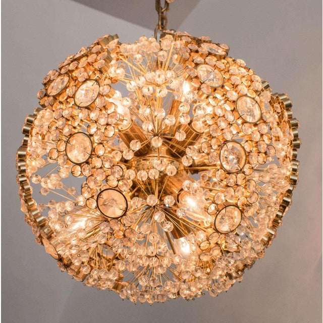 This beautiful example JL. Lobmeyr chandelier is like jewelry for your home.
