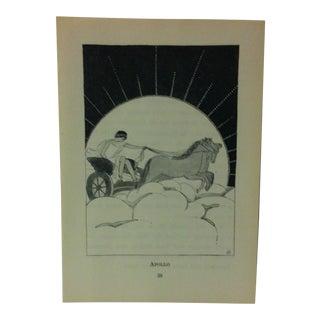 """1927 """"Apollo"""" Across the Rainbow Bridge Print For Sale"""