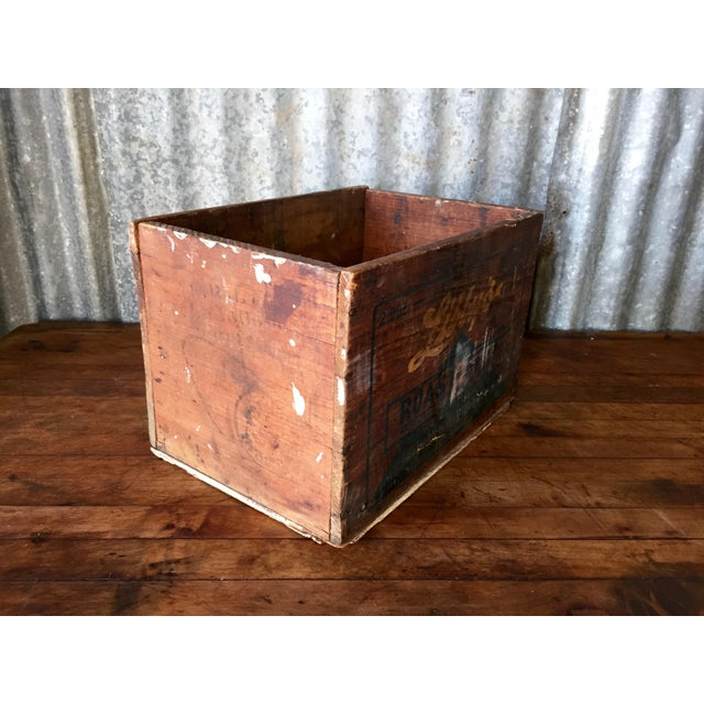 Vintage Libby's Roast Beef Wood Crate - Image 4 of 10
