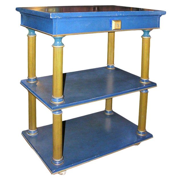 1960s Vintage James Mont Stand Table For Sale