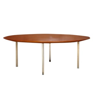 Florence Knoll Parallele Bar Teak Cocktail Table For Sale