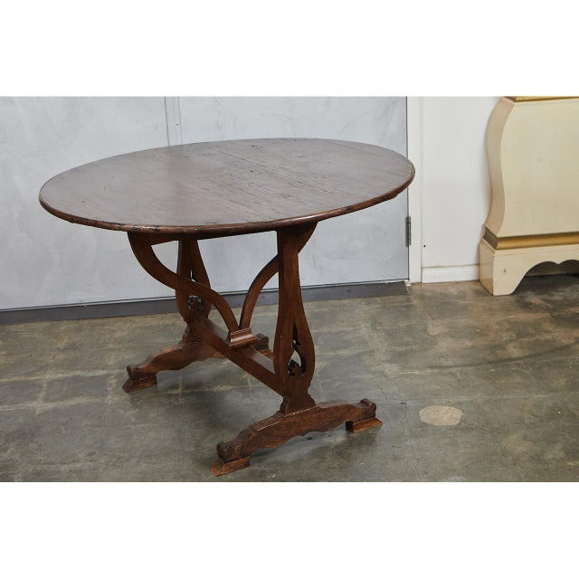French Country French Wine Table For Sale - Image 3 of 9