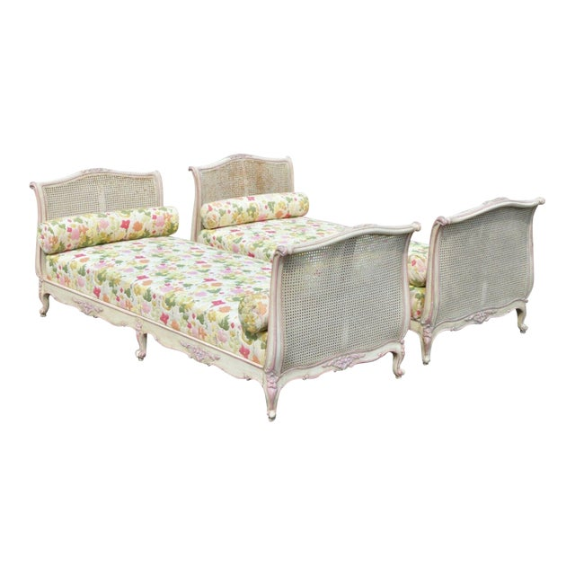 Early 20th Century French Louis XV Style Daybeds- a Pair For Sale