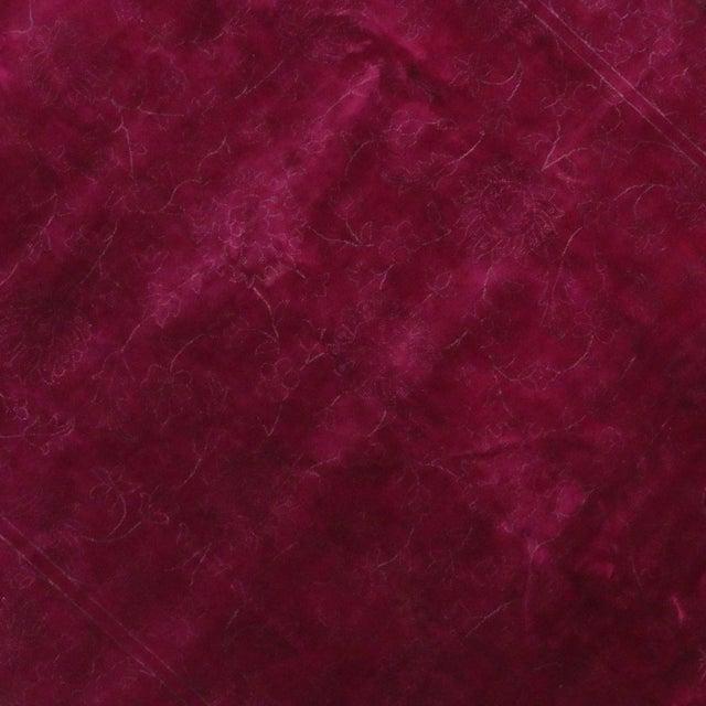 "Modern Raspberry-Fuchsia Contemporary Rug -- 7'2"" x 9'9"" - Image 4 of 6"
