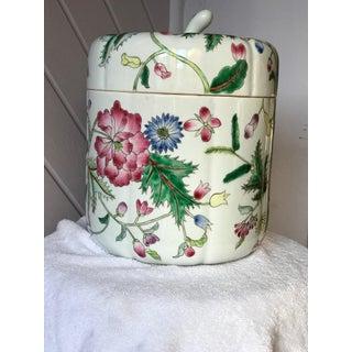 Floral Ceramic Lidded Jar Preview