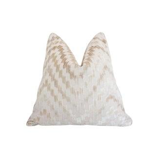 Scalamandre Ankara Pillow, Sisal For Sale