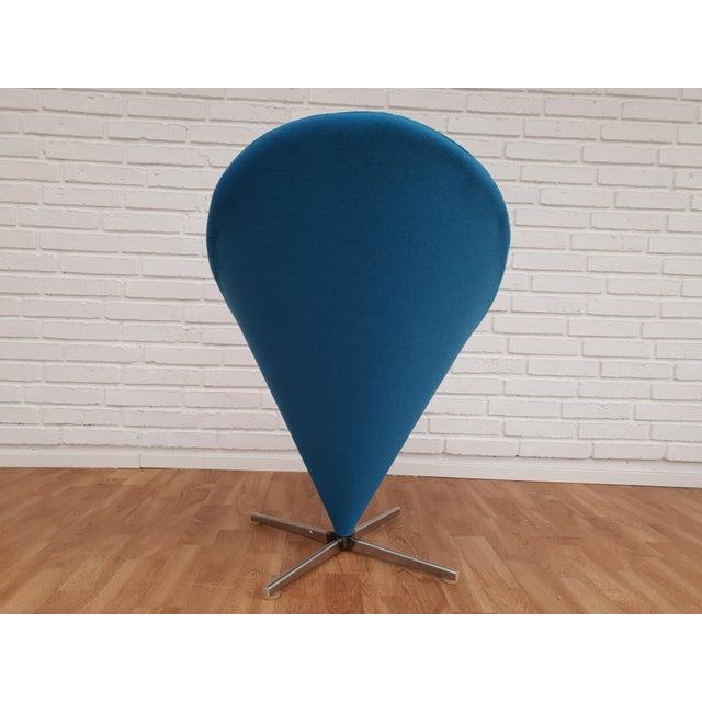 """Verner Panton 1970s Vintage Verner Panton """"Cone"""" Chair For Sale - Image 4 of 13"""