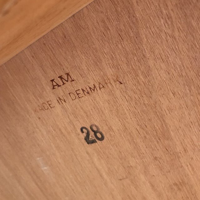 Am Mobler Danish Teak Expandable Table - Image 10 of 10