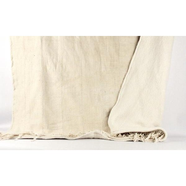 Nude Mud Cloth Throw Blanket - Image 3 of 6
