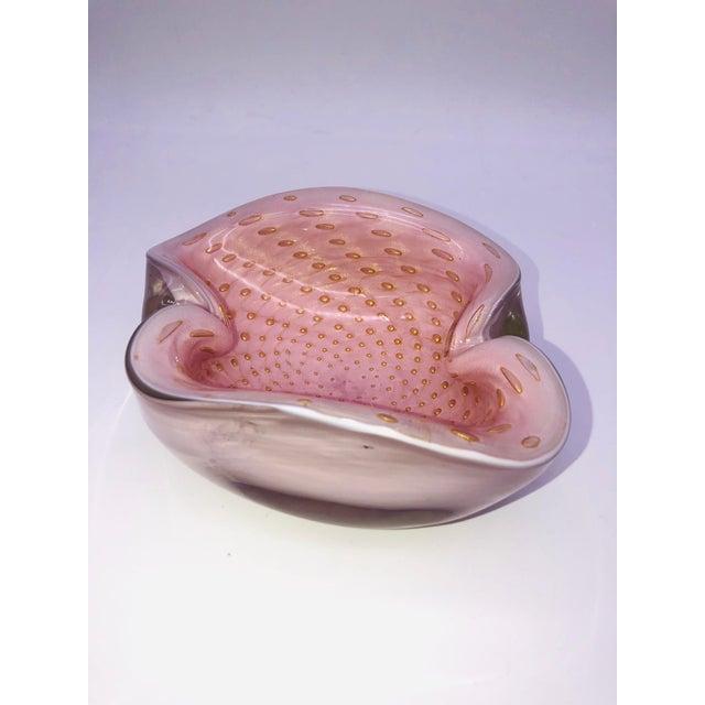 Italian Murano Barbini Bullicante Bowl For Sale In New York - Image 6 of 11