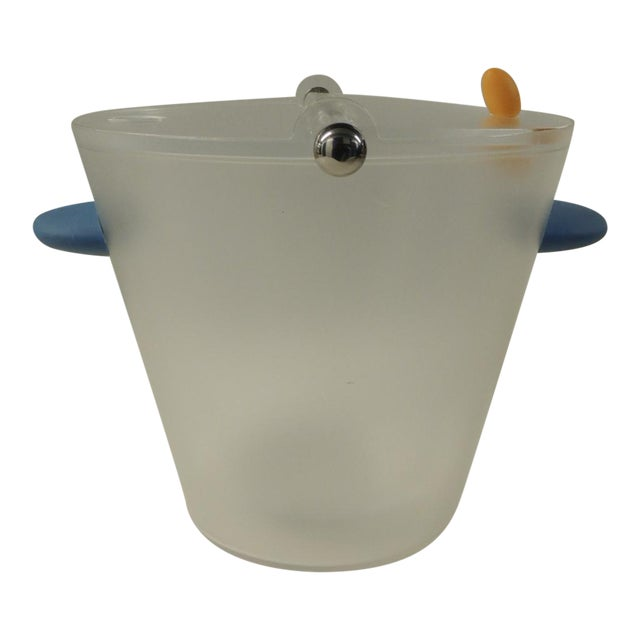 Michael Graves Frosted Lucite Ice Bucket - Image 1 of 5