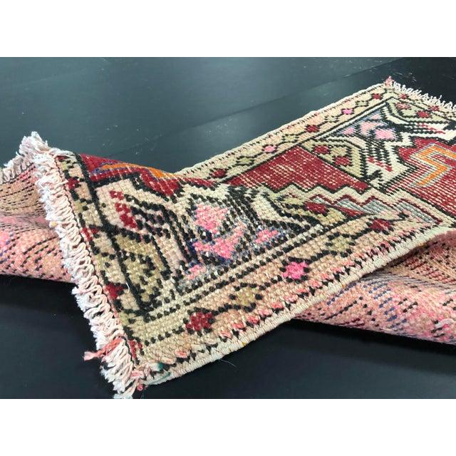 Handmade wool rug in Turkish Anatolia , Vintage Oushak Rug,Turkish Antique Vintage Anatolian Rug, Handmade wool Rug . One...