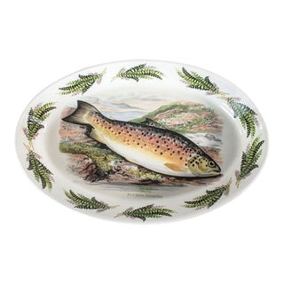 Portmeirion Compleat AnglerTrout Baking Dish For Sale