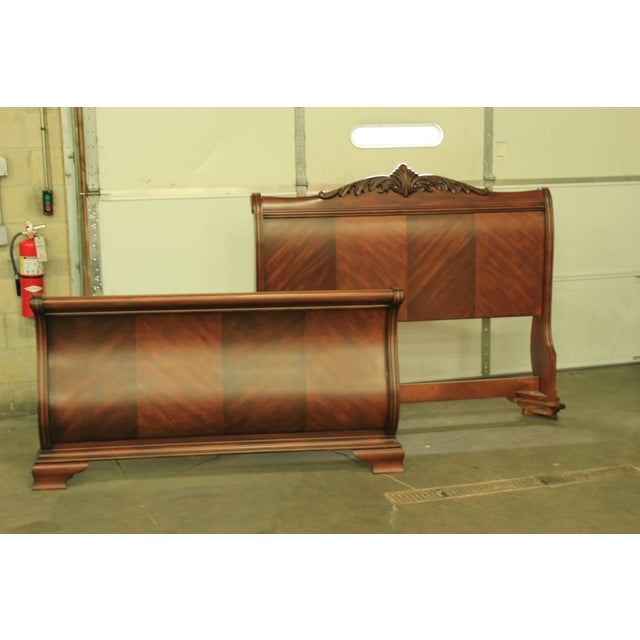 Tuscany Queen Sized Sleigh Bed Frame - Image 2 of 5