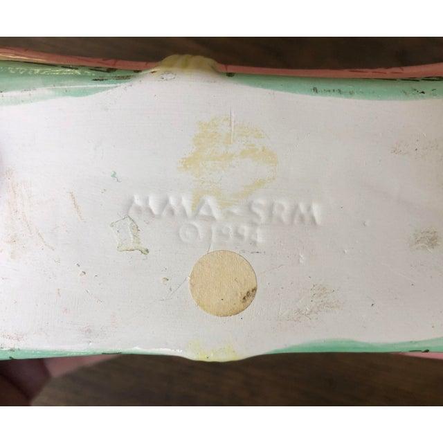 Vintage Metropolitan Museum of Art Ceramic Lidded Asparagus Box For Sale - Image 9 of 13
