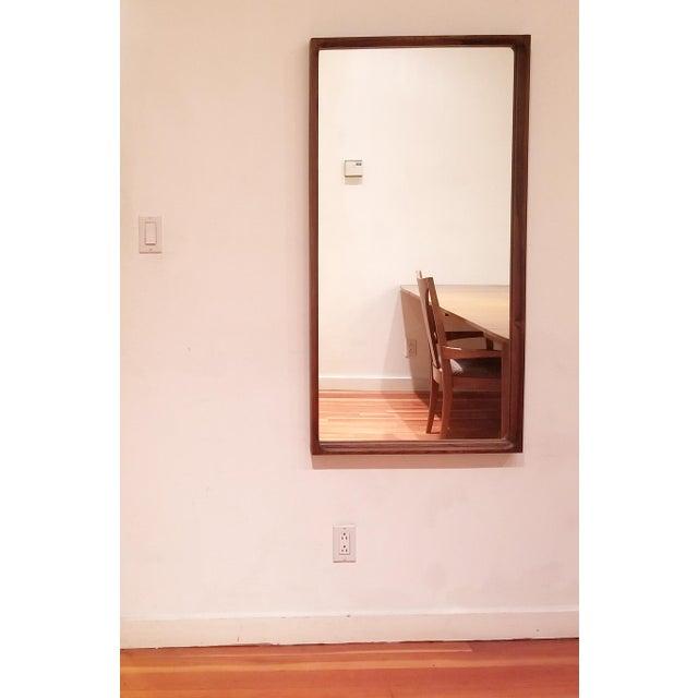 Mid-Century Modern Mid-Century Glass Master Markaryd Rectangular Mirror For Sale - Image 3 of 9