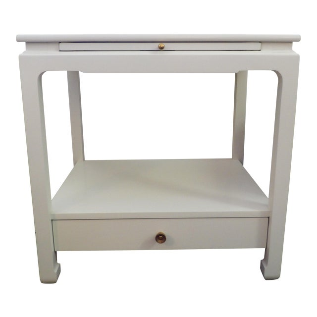 Chinoiserie Hickory Chair Company Alexa Hampton Sara Side Table For Sale