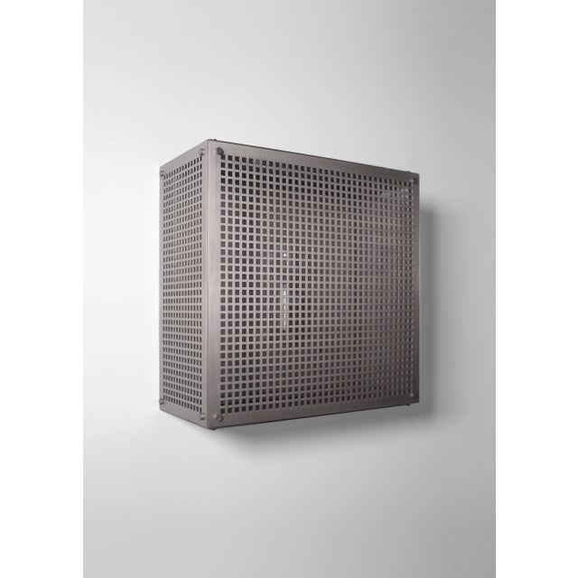 Contemporary Modern Contemporary 001 Flush Mount in Nickel by Orphan Work For Sale - Image 3 of 10
