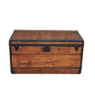 """Nude"" Louis Vuitton Trunk Circa 1880's For Sale"