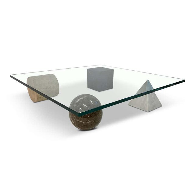1970s 1970s Postmodern Metafora Coffee Table For Sale - Image 5 of 5