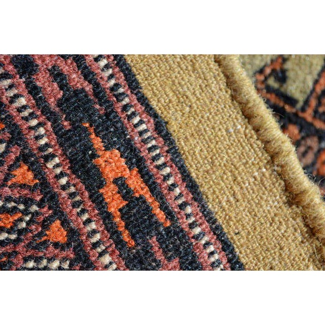 Persian Carpet Runner, Signed, 1940s For Sale - Image 4 of 9