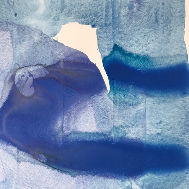 "Kate Roebuck ""Glacier"" Original Painting - Image 3 of 3"