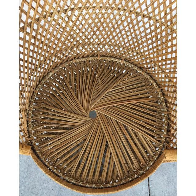 Vintage Rattan Peacock Chair - Image 8 of 8