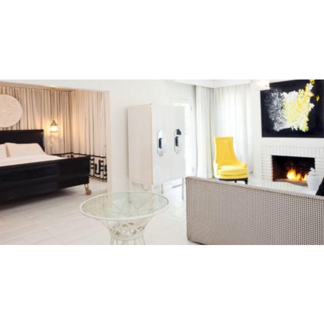 Here is your once in a lifetime chance to own a Kelly Wearstler custom cabinet designed for the iconic Viceroy Palm...
