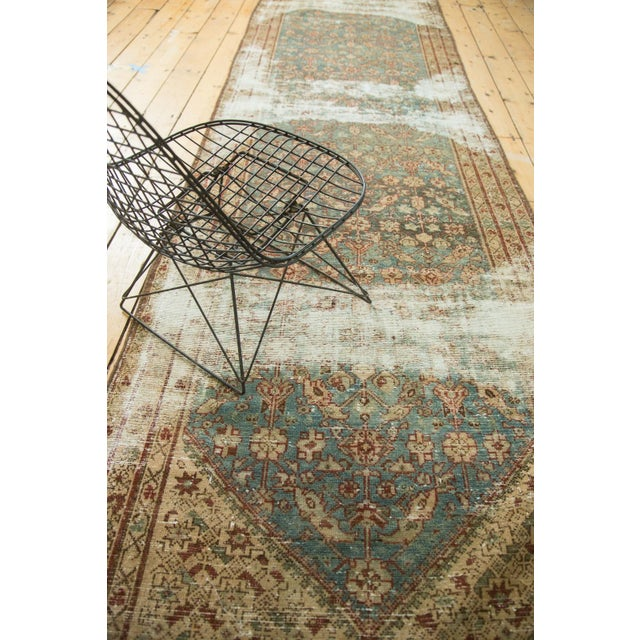 """Antique Malayer Rug Runner - 3'6"""" x 13'3"""" - Image 10 of 10"""