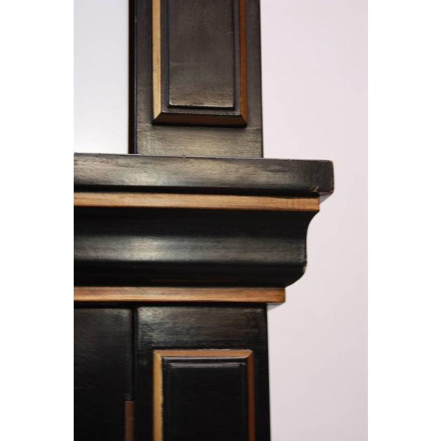 1970s James Mont Style Ebonized Armoire - Image 4 of 8
