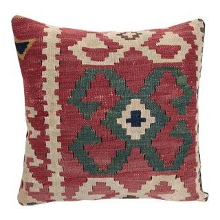 Antique Cuba Kilim Pillow Cover For Sale