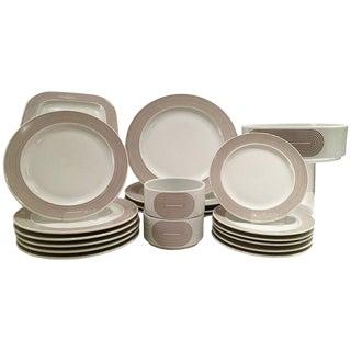 "1970s Rosenthal ""Joy One"" Dinnerware - Set of 20"