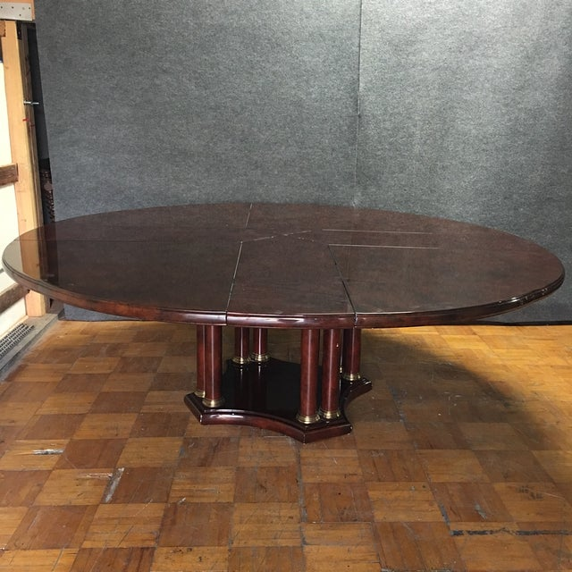 Expandable Circular Dining Table - Image 5 of 10