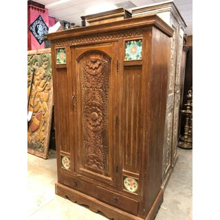1920's Antique Indo Armoire Preview